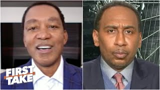 Isiah Thomas on MJ holding a grudge and ending his rivalry with Larry Bird | First Take