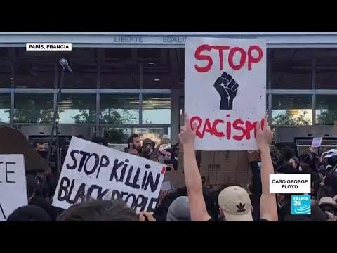 Francia también protesta contra el racismo y la violencia policial