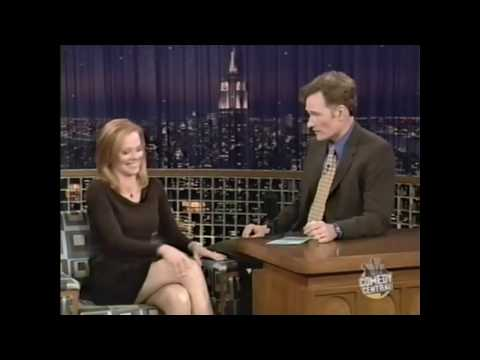 Marg Helgenberger on Conan O'Brien 2003