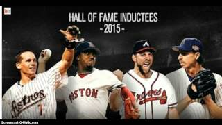 2015 BASEBALL HALL OF FAME ..STILL LEAVES BARRY BONDS OUT !