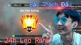 """Thử  Thách """"24h"""" Leo Rank HUYỀN THOẠI (Mùa 10) - ANH FORD Bất Ngờ Vào TOP Thách Đấu"""