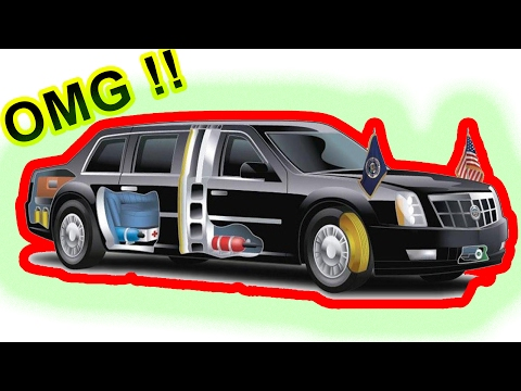 Facts About President TRUMP'S Vehicle - top 12 awesome facts about president donald trump's |limo|.