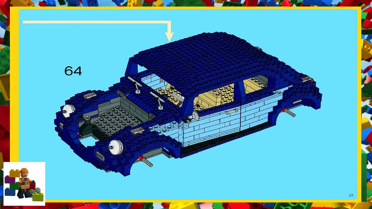 Lego Instructions Creator Expert 10187 Classic Volkswagen