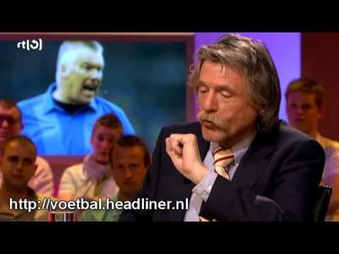 Henk Kesler over Roelof Luinge die daarna boos opbelt (Voetbal International) (HQ)