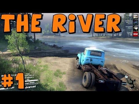 Spin Tires | Multiplayer | The River | Part 1 with Gunner AR12 and Kona