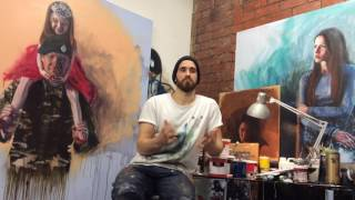 Sky Arts Portrait Artist of the Year 2018 Call to Artists - Nick Lord (2013 Winner)