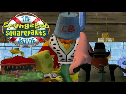The SpongeBob SquarePants Movie - All Bosses HD