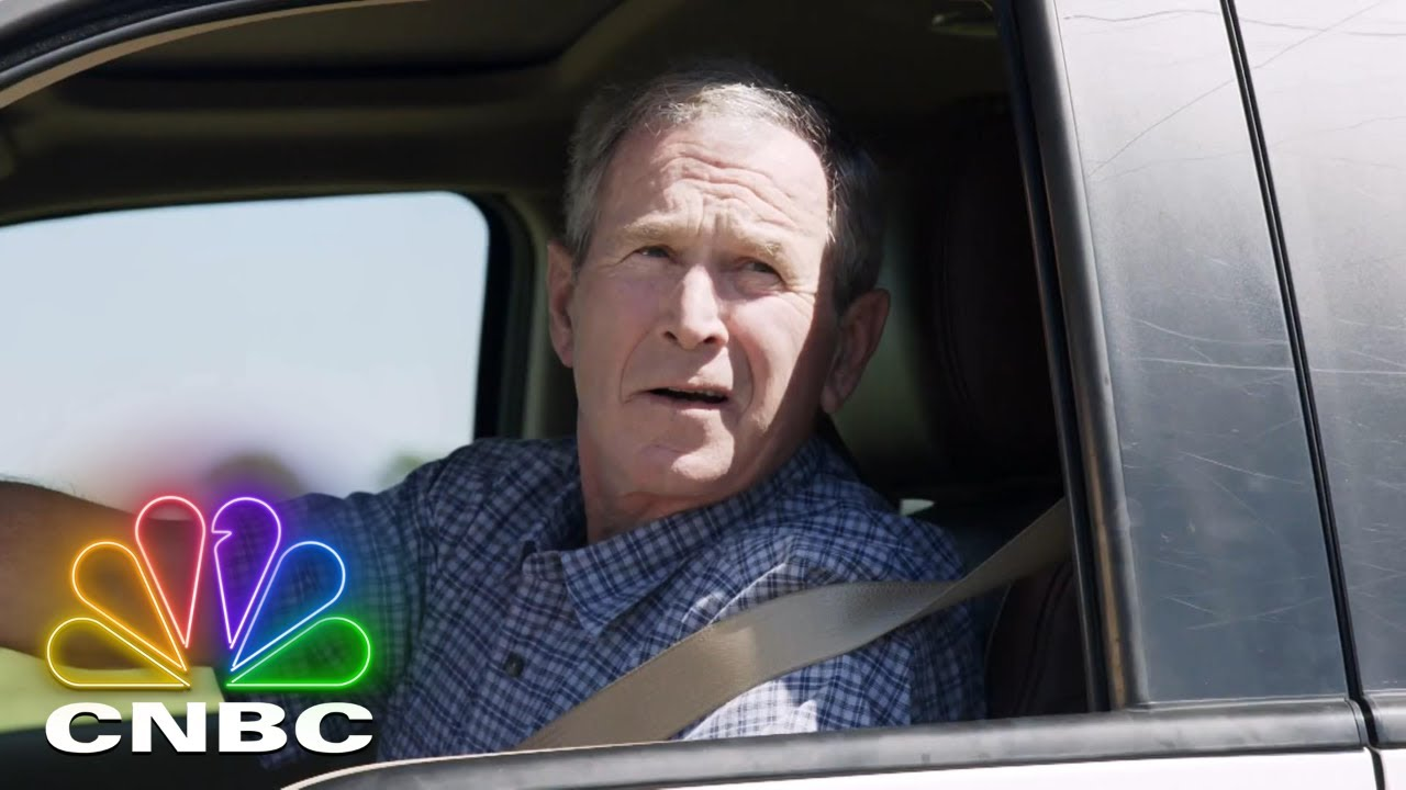 Download Former President George W. Bush Picks Jay Up In A 2013 Ford F150 King Ranch   Jay Leno's Garage