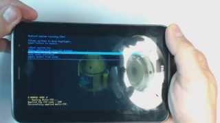 Samsung Galaxy Tab 2 P3100 hard reset