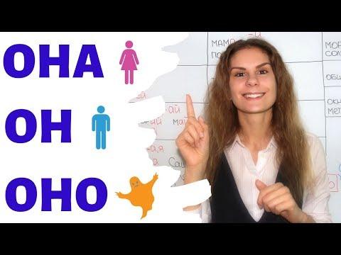 ОН, ОНА или ОНО? || Мужской, женский и средний роды СУЩЕСТВИТЕЛЬНЫХ