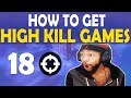 HOW TO GET HIGH KILL GAMES | BUILD BATTLES | I HIT THOSE - (Fortnite Battle Royale)