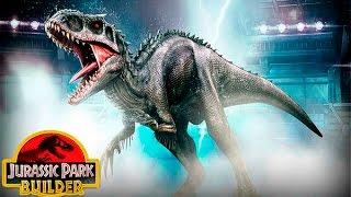 Jurassic Park Builder (Полное русское прохождение) - Эпизод 73||Индоминус рекс