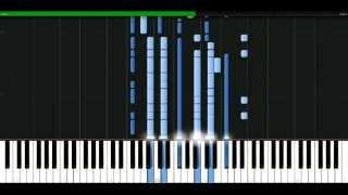 Ricky Martin - She Bangs [Piano Tutorial] Synthesia | passkeypiano