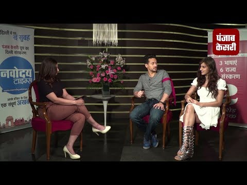 Exclusive interview with Tiger Shroff and Disha Patani In Baagi 2