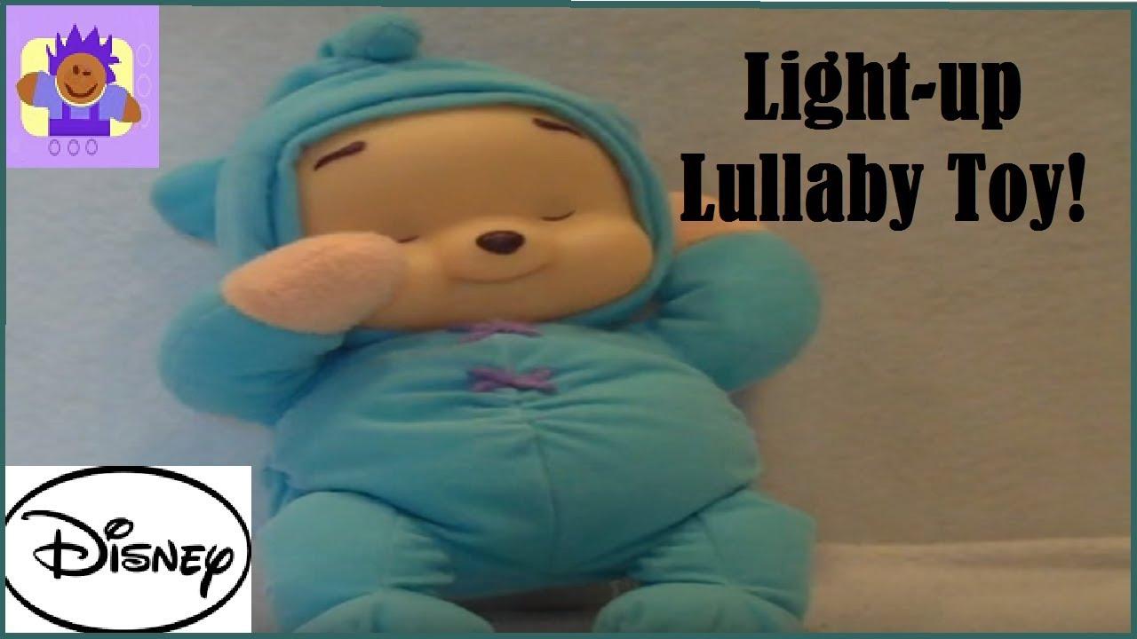 Toys For Bedtime : Disney winnie the pooh dream glow bear bedtime plush