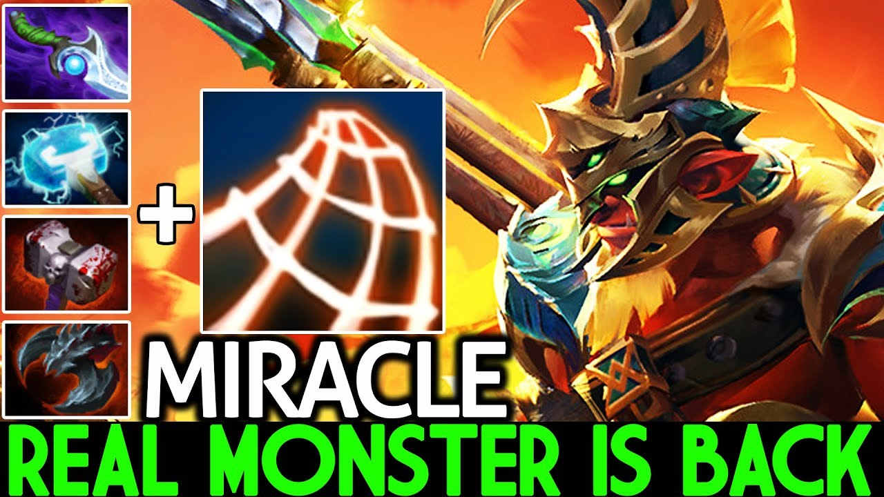 MIRACLE [Troll Warlord] Real Monster is Back 100% Slow Build 7.23 Dota 2 thumbnail