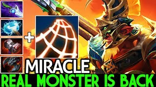 MIRACLE [Troll Warlord] Real Monster is Back 100% Slow Build 7.23 Dota 2