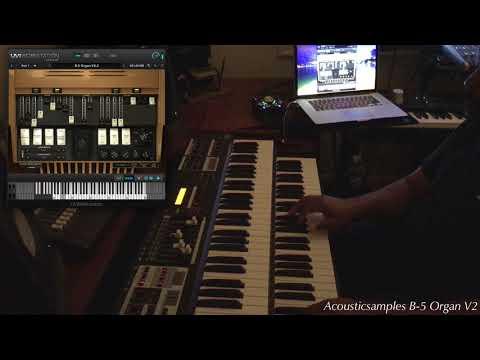 B-5 Organ V2.2 and Hammond SK2 by acousticsamples