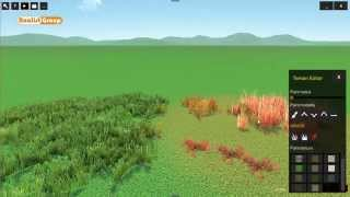 OneRay-RT Grass types insertion and removal
