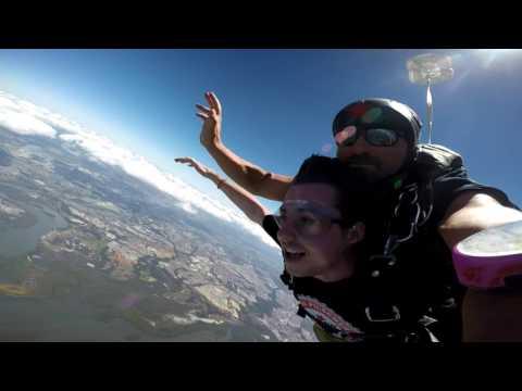 Skydiving in Brisbane, Australia!
