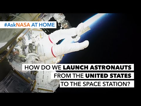 #AskNASA  How Do We Launch Astronauts from the United States to the Space Station?