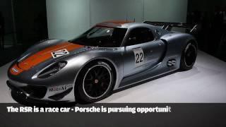 Detroit Motor Show: Porsche 918 Rsr