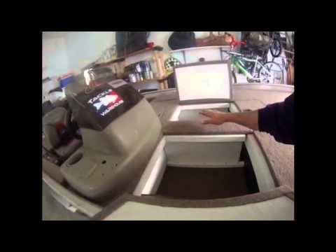 Bass Boat Restoration And Deck Extending Youtube