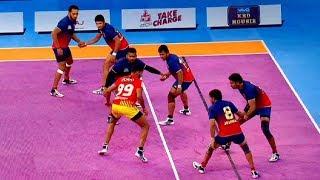 Pro Kabaddi: दमदार रही दबंग दिल्ली और गुजरात फॉर्चूनजाइंट्स की भिड़ंत   Sports Tak