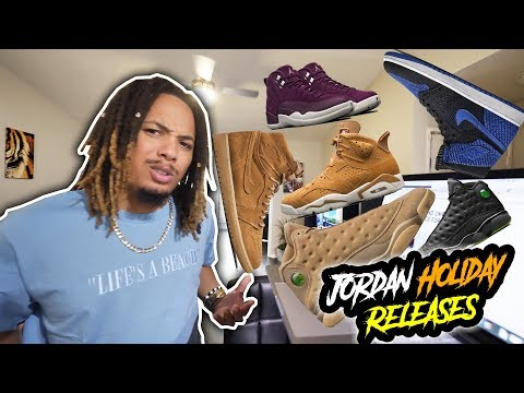 COP OR NOT ?!?! JORDAN BRAND REVEALS UPCOMING HOLIDAY RELEASE !!!