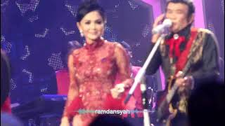DUET YUNI SHARA DGN RHOMA IRAMA Lagu Terkesima, indosiar 18 nov 2017