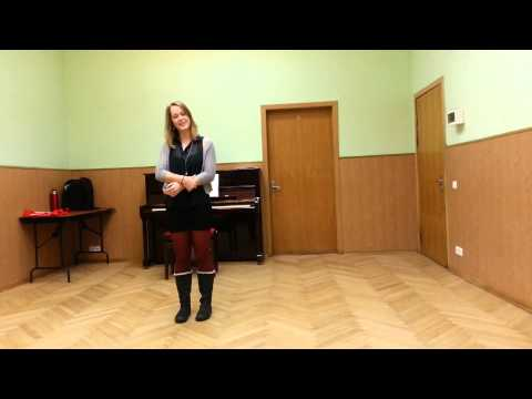 Voice Class at Moscow Art Theatre Semester - Fall 2014