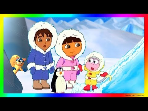 Dora And Friends The Explorer Cartoon Adventure 👗 To The South Pole With Dora Buji In Tamil