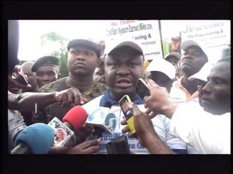 Youths in Rivers State Protest Against Incessant Attacks On Oil Facilities in Niger-Delta
