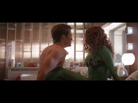 Star trek movie sex scene green