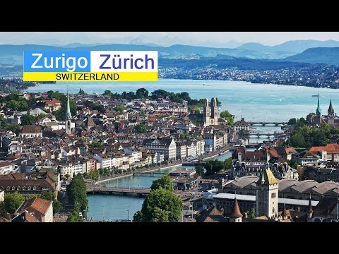 Zurigo - Zurich, Swiss. April 2017 HD.