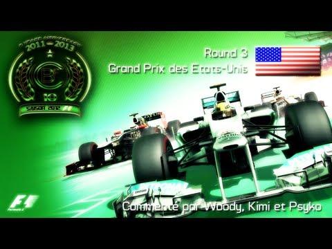 CBF 360 | F1 2012 World Championship | Season 10 - Round 3 : United States GP (Gameplay/Commentary)
