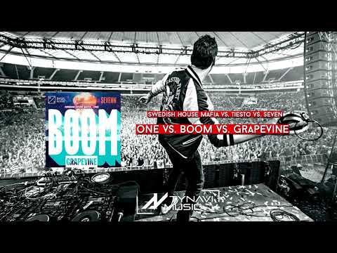 Swedish House Mafia vs. Tiesto & Seven - One vs. Boom vs. Grapevine (TYNAVI Mashup)