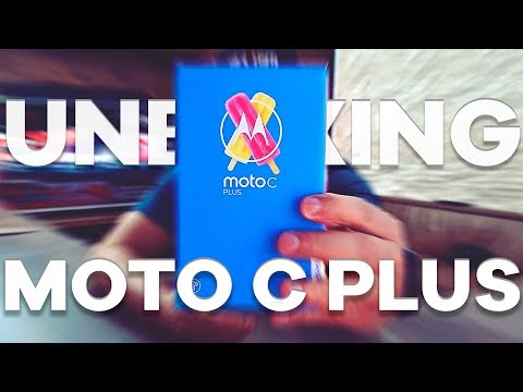 Unboxing e primeiras impressões do Motorola Moto C Plus, Ainda falta algo pelo preço!