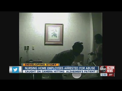 Nursing home employees arrested for abuse