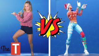 The BEST Celebrity Fortnite Dance Challenge (Maddie Ziegler, Jojo Siwa And More)