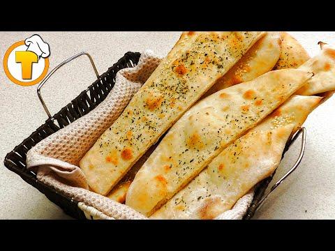 Фокачча - итальянская лепешка с пряными травами. Пошаговый рецепт приготовления.