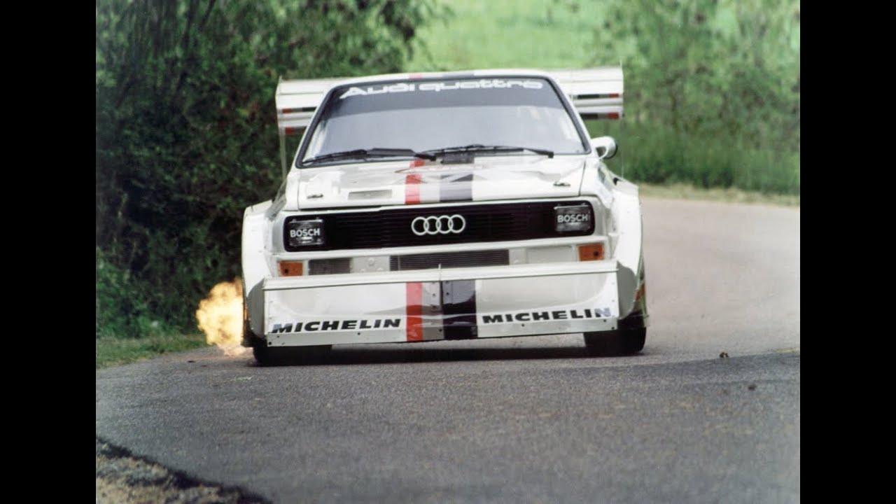 Audi Sport Quattro Rally Car Pure Sound 1985 86 Video 1 Youtube