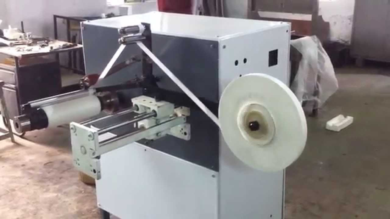 Spool Winding Machine For Adhesive And Non Adhesive Tapes