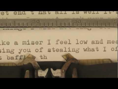 Josh Ritter - New Lover - official lyrics video