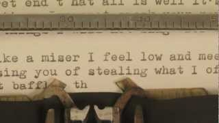 josh ritter   new lover   official lyrics video