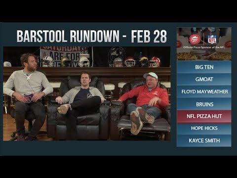 Barstool Rundown - February 28, 2018