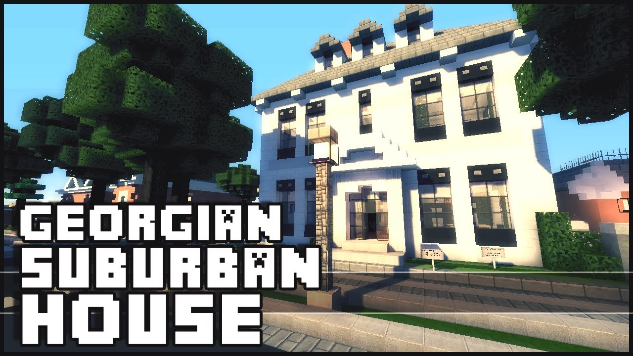 How To Build A Small Suburban House In Minecraft