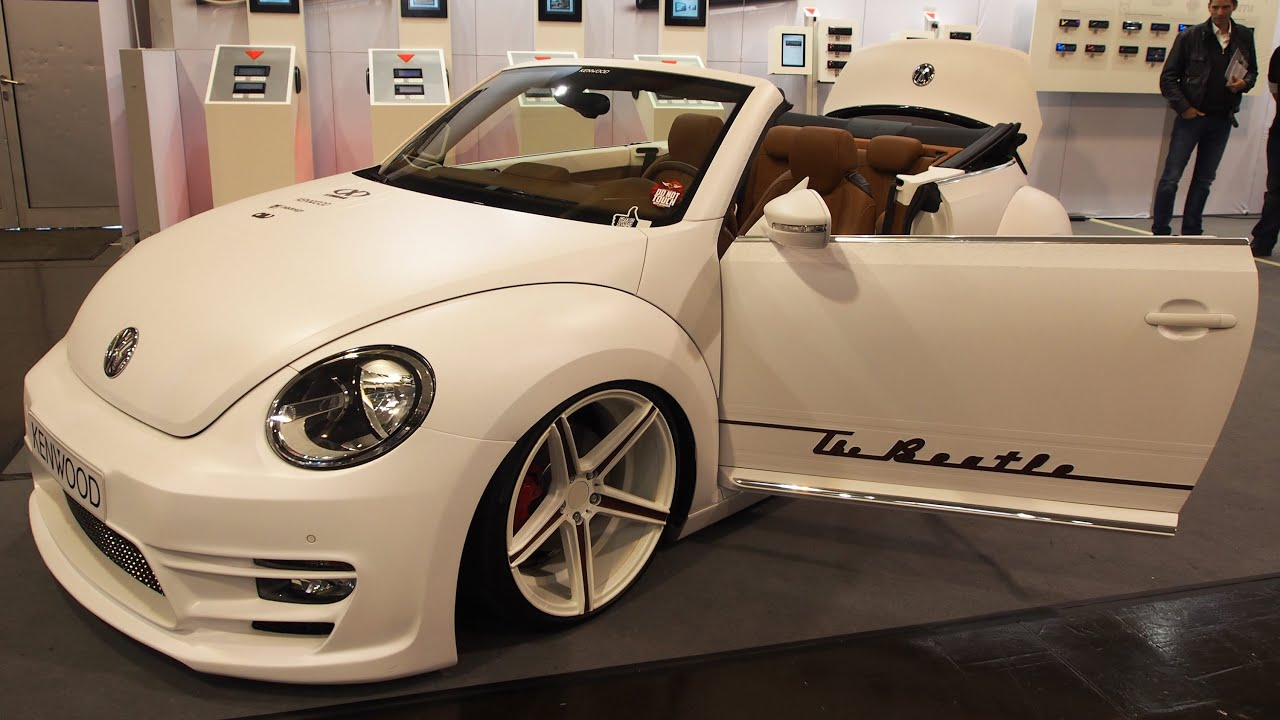 volkswagen the beetle cabrio audio tuning at essen. Black Bedroom Furniture Sets. Home Design Ideas