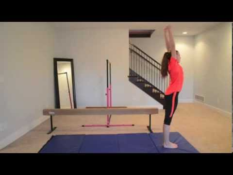 How to do a Standing Back Tuck!