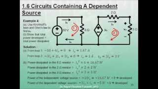 Electric Circuits - Electrical Engineering Fundamentals - Lecture 1(In this lecture, we will cover the following: - Voltage, Current, and Power. - Circuit Schematic and Ideal Basic Circuit Elements. - Independent and Dependent ..., 2012-04-16T01:34:09.000Z)